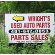 Wrights Auto Parts in Foster, RI