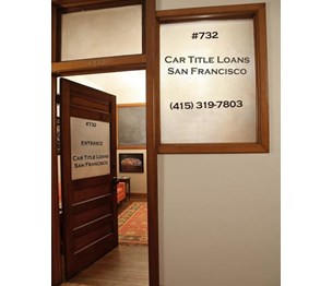 Car Title Loans San Francisco